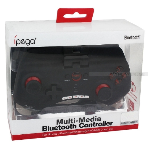 IPEGA PG 9025 Bluetooth ჯოისტიკი  iPhone/iPod/iPad/Samsung/HTC/Sony